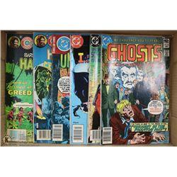 FLAT OF DC & CHARLTON COMICS HAUNTED/  SI-FICOMICS