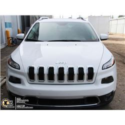 UNRESERVED! 2016 JEEP CHEROKEE LIMITED 4X4
