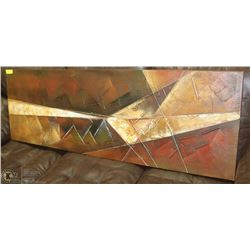 LARGE ABSTRACT PAINTING ON CANVAS ARTISTIC WALL