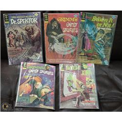 COLLECTION OF OLD ESTATE HORROR COMICS