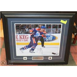 SHELDON SOURAY FRAMED PICTURE WITH COA FROM