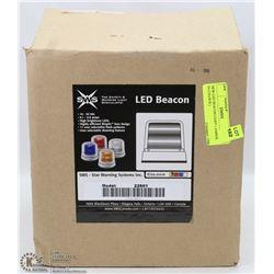 NEW LED BEACON LIGHT ( AMBER IN COLOUR )