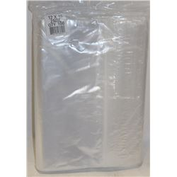 NEW 12 X 15- 2 MIL ZIPLOC BAG 100/BAG