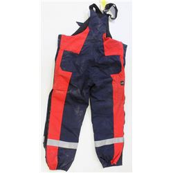 FRISTADS ANTI-FLAME BIB-COVERALLS SIZE: XL