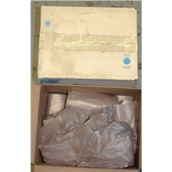 2 CASES OF RALSTON QUALITY BROWN GARBAGE BAGS
