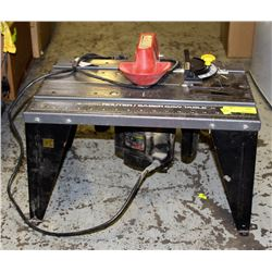 VERMONT ROUTER/ SABRE-SAW TABLE & SKIL ROUTER