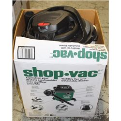 SHOPVAC WET/DRY VAC WITH DETACHABLE BLOWER