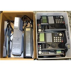 NUTEC PHONE SYSTEM INCL 6 PHONES AND BATTERY