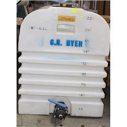 ZEEBEST 220L PLASTIC WATER TANK WITH VALVE