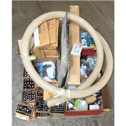 PALLET OF ASSORTED FASTENERS, THREADED COUPLINGS