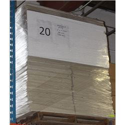 PALLET #20) LOT OF UNUSED ARMSTRONG CEILING TILES