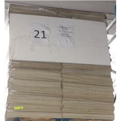 PALLET #21) LOT OF UNUSED ARMSTRONG CEILING TILES