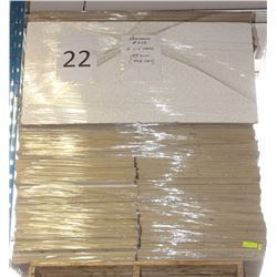 PALLET #22) LOT OF UNUSED ARMSTRONG CEILING TILES