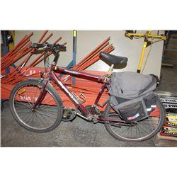 POLICE SEIZURE SUPER CYCLE 1500 BURGUNDY BIKE