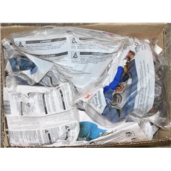 BOX WITH 3M RESPIRATORS AND FILTER CARTRIDGES