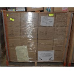 FULL PALLET CRATE OF YELLOW 8-10 PLASTIC PLUGS ON