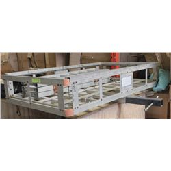 ALUMINUM CARRYING RAMP WITH HITCH CARRIER