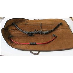 TWO COMPOUND BOWS IN CASE