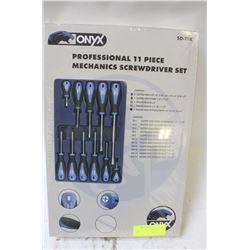 ONYX PRO 11 PC MECHANICS SCREWDRIVER