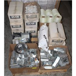 PALLET OF HOUSING SUPPLIES INCLUDING: