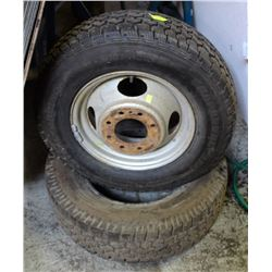 GROUP OF 2 ASSORTED TIRES