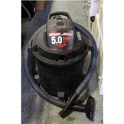 CRAFTSMAN 13 GALLON  5HP WET/DRY SHOP VAC