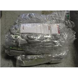 FOUR BUNDLES OF NITRILE DIPPED GLOVES