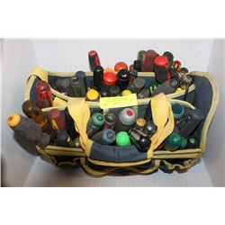 TNT TOOL BAG WITH OVER 85 ASSORTED SCREWDRIVERS