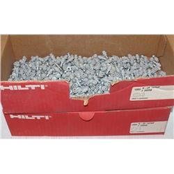 2 CASES OF HILTI X-ZF 14THP FASTENING PLUGS