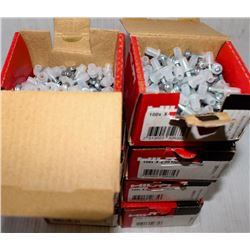 8 SMALL BOXES OF HILTI  3A8505 FASTENING PLUGS