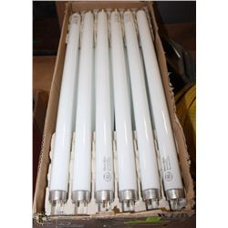 "2 CASES OF 18"" T8 WARM WHITE FLUORESCENT BULBS"