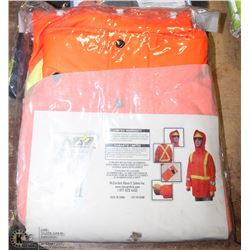 LARGE STORMFIRE FR HI-VIS COAT WITH SIZE 46