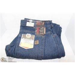 BIG BILL LINED JEAN PANTS - SIZE 34X30