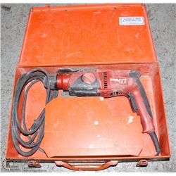 HILTI TE-2 CONCRETE AND STEEL POWER DRILL