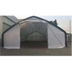 30FT X 50FT X 16FT STRAIGHT WALL PEAK SHELTER WITH