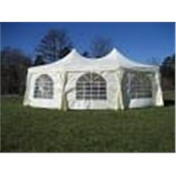 16FT X 22FT MARQUEE EVENT TENT WITH 320 SQFT, ONE