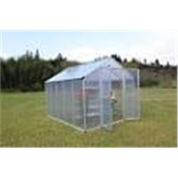 8FT X 10FT TWIN WALL GREEN HOUSE (TWO BOXES)