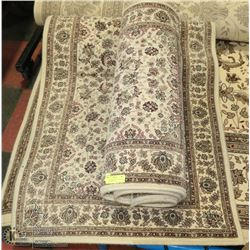 PAIR OF KORHANI AREA CARPETS, IVORY COLOR WITH