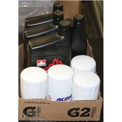LOT OF 4 OIL FILTERS PF52C & 4 - ATF D3M AUTOMATIC