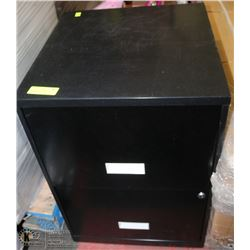 """2 DRAWER FILE CABINET WITH KEYS 17""""Wx18""""Lx24""""H"""