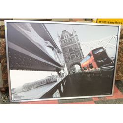 BRIDGE SCENE FRAMED PICTURE