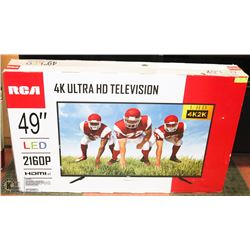 """NEW IN BOX, RCA 4K ULTRA HD 49"""" LED TV WITH 2160P"""