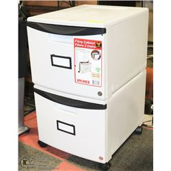 """NEW STOREX DUAL 19"""" DEEP FILING CABINET WITH KEYS"""