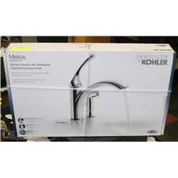 NEW IN BOX KOHLER KITCHEN FAUCET WITH SIDE SPRAY