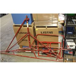 RED HOIST SYSTEM & COUNTERWEIGHTS