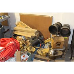 PALLET OF ASSORTED HEAVY DUTY VALVES