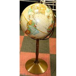 """REPLOGE WORLD CLASSIC GLOBE ON STAND 16"""" DIAMETER"""