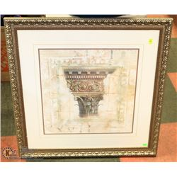 ORNATE FRAMED SHOWHOME PICTURE 29 X 29
