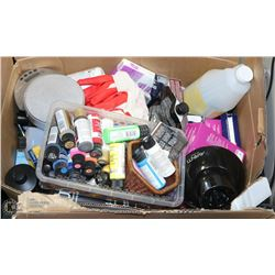 SALON BOX OF ASSORTED PRODUCTS