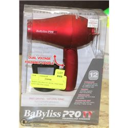 BABYLISS PRO TT, DUAL VOLTAGE FAST DRYING HAIR